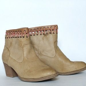 Rampage Vendetta Leather Boots 9M